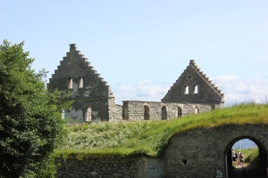 The second castle - ruined by Russian prisoners of war in the late 1700's