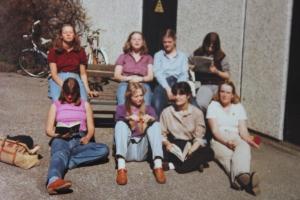 classmates in 1980