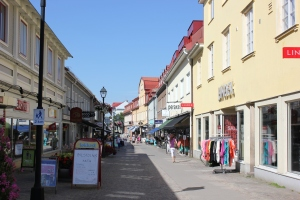the old town of Ulricehamn